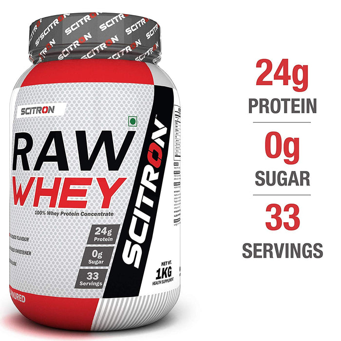 Scitron Raw Whey Unflavoured 1kg