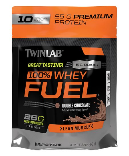 Twinlab 100% Whey Fuel Nutritional Shake, Double Chocolate, - fitness trends