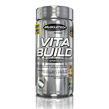 Muscletech Vita Build 75 capsules