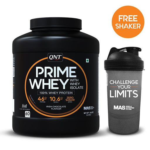 QNT Prime Whey - fitness trends