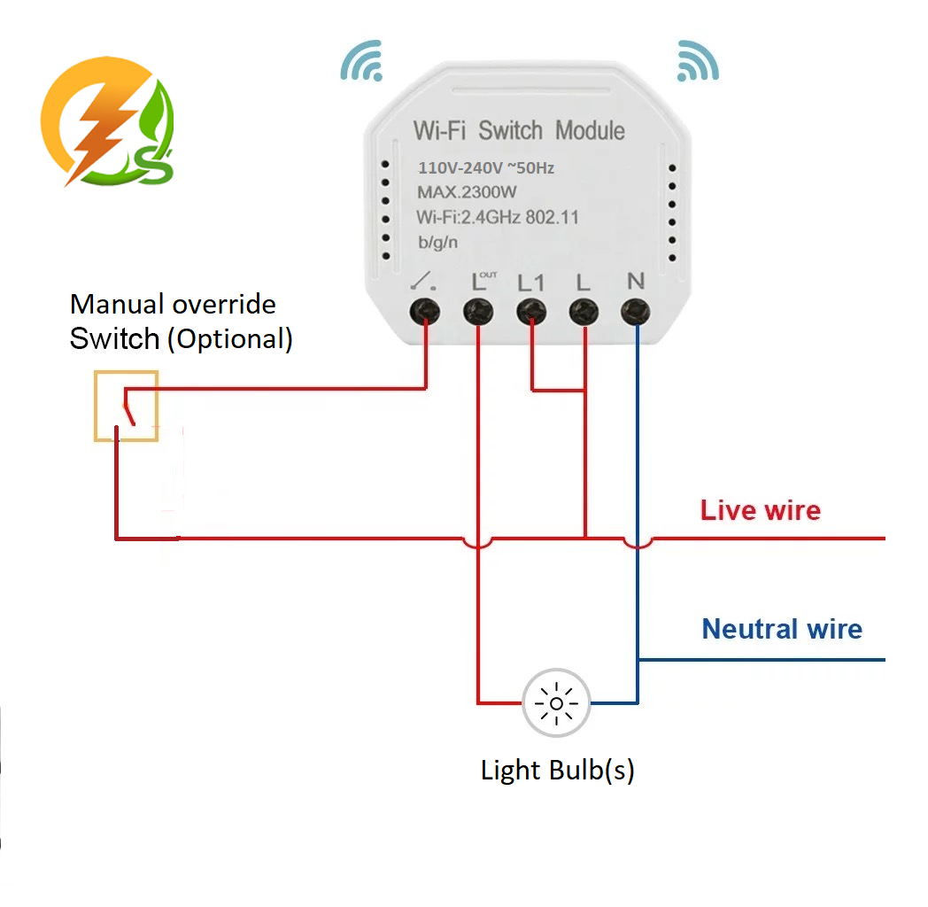 WiFi Relay Switch