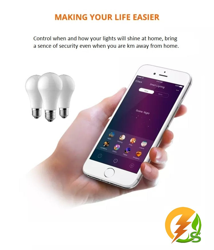 Avoid-Reduce-Replace 3 x 10 Watt Smart Bulb Campaign
