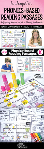 Kindergarten Phonics Reading Passages