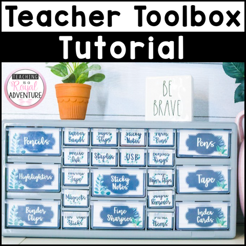 farmhouse teacher toolbox tutorial
