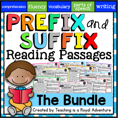 Prefix suffix reading