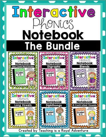 Notebook Bundle Phonics