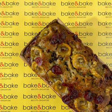 Banana Cranberry LoafCake