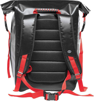 Black/Graphite/Bright Red - Back