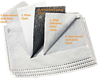 Activated Carbon Filters - PM-25 (10 Filters)