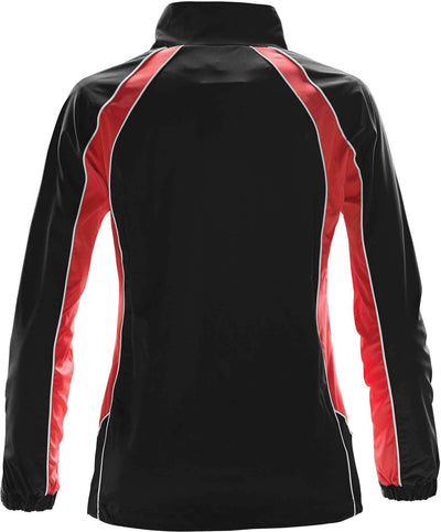 Black/Bright Red/White - Back