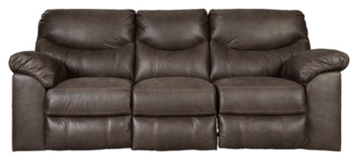Teak Boxberg Power Reclining Sofa
