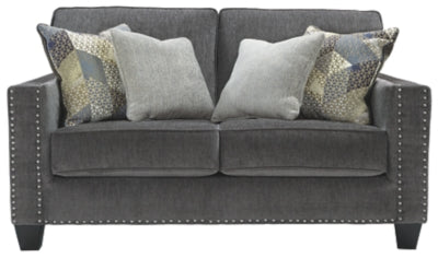 Smoke Gavril Loveseat