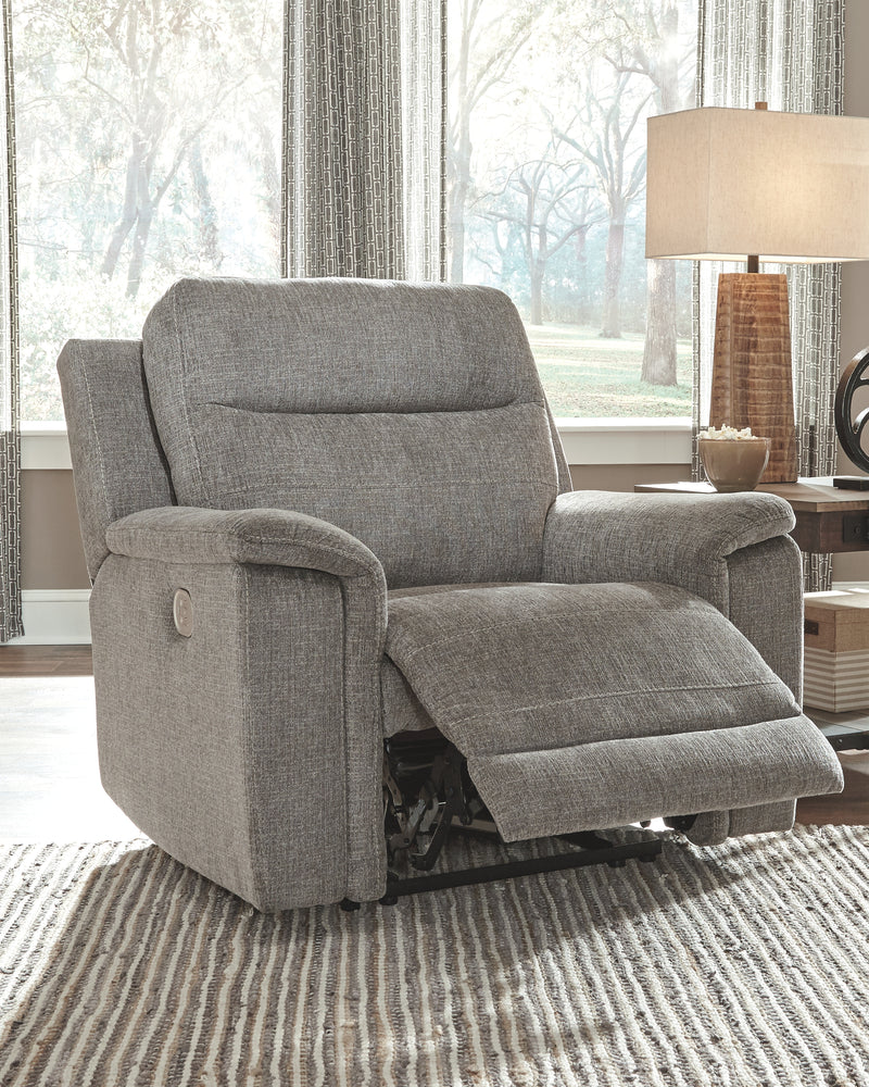 Smoke Mouttrie Power Recliner