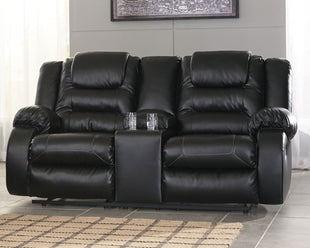 Tremendous Vacherie Reclining Loveseat With Console Gmtry Best Dining Table And Chair Ideas Images Gmtryco