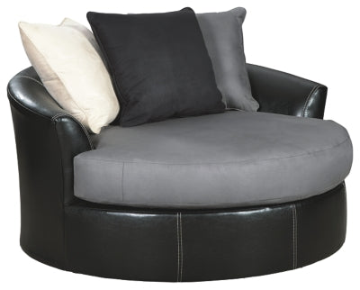 Charcoal Jacurso Oversized Chair