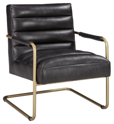 Black Hackley Accent Chair