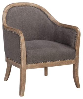 Brown Engineer Accent Chair