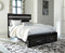 Starberry Black Queen Storage Footboard