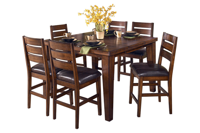 Larchmont Counter Height Dining Table & 4 Chairs