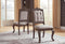 Charmond Brown Dining UPH Side Chair (2/CN)