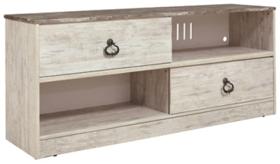 "Whitewash Willowton 54"" TV Stand"