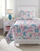 Multi Jobeth 2-Piece Twin Quilt Set