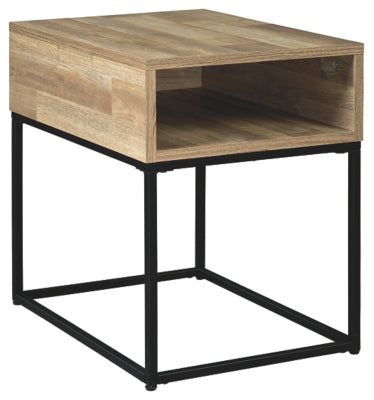 Natural Gerdanet End Table