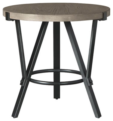 Light Brown Zontini End Table