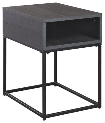 Black Yarlow End Table