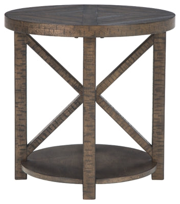Brown Jessoli End Table
