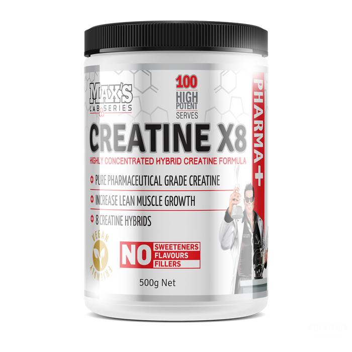 Max's Lab Series Creatine X8 500g