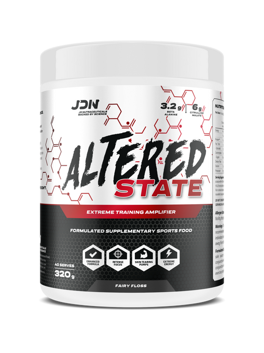 JD Nutraceuticals Altered State - EXTREME PRE-WORKOUT AMPLIFIER