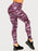 Ryderwear WILD SCRUCH BUM LEGGINGS / TIGER PURPLE