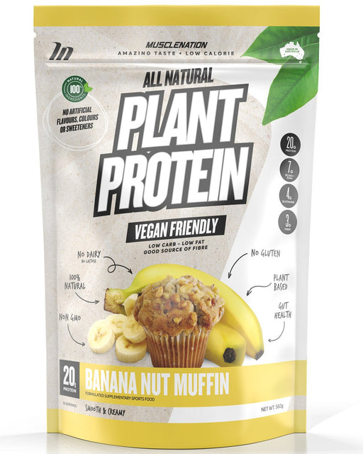 Muscle Nation Plant Protein 100% NATURAL PROTEIN