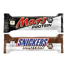 Mars & Snickers Protein Bar