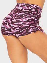 Ryderwear Wild Scrunch Bum Shorts - Tiger
