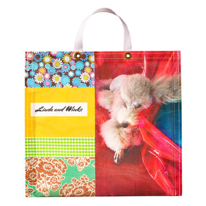 Linda Rodin Linda and Winks Love Tote Bag
