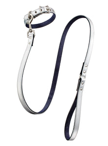 Linda Rodin Moonburn leash and collar sets for dogs