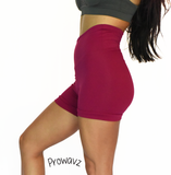 "Women's Fuchsia Butt Scrunch Shorts with a Booty Shaping Effect  ""FITS LIKE A GLOVE COLLECTION"""