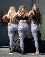 Women's Stray Cat Butt Scrunch Leggings with a Booty Shaping Effect.