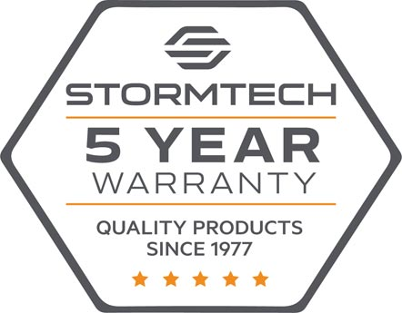 Stormtech 5 Year Warranty - Quality Products Since 1977