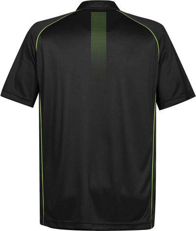 Black/Spring Green - Back