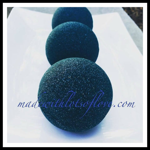 Vegan Bubble Bath Bombs