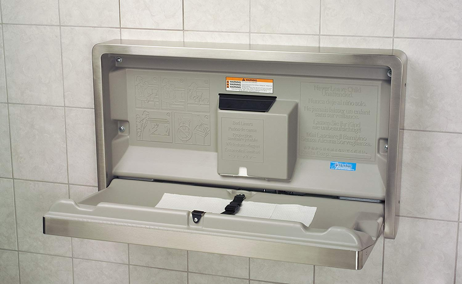 How to Mount and Maintain a Folding Baby Changing Station