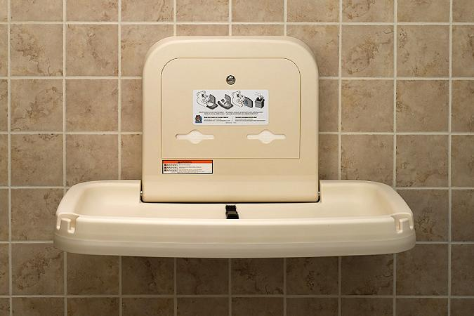 Why Baby Changing Stations for Public Restrooms Make So Much Sense