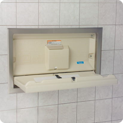 Recessed Baby Changing Stations - The Benefits for Your Business