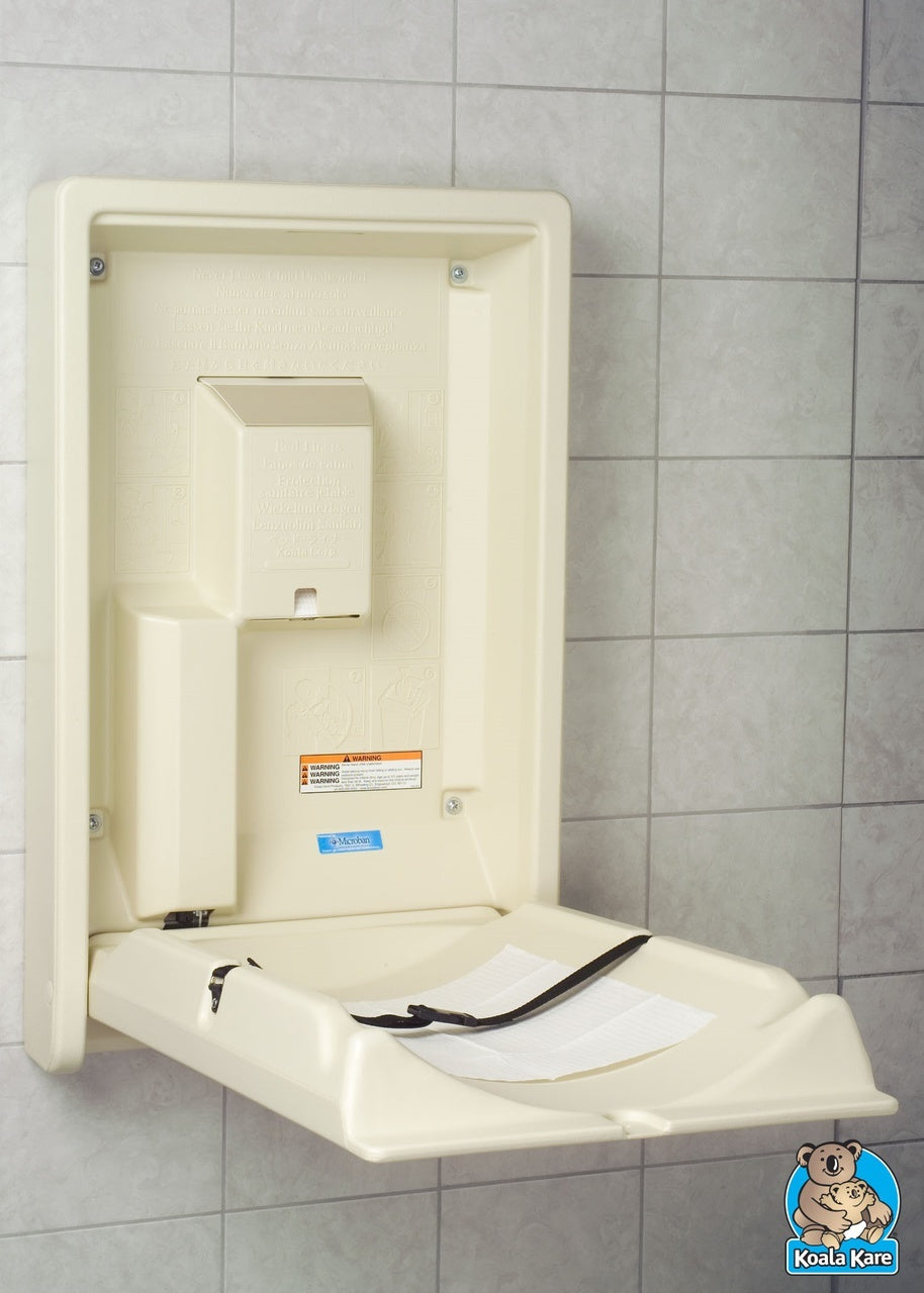3 Advantages of a Vertical Baby Changing Station for Your Restrooms