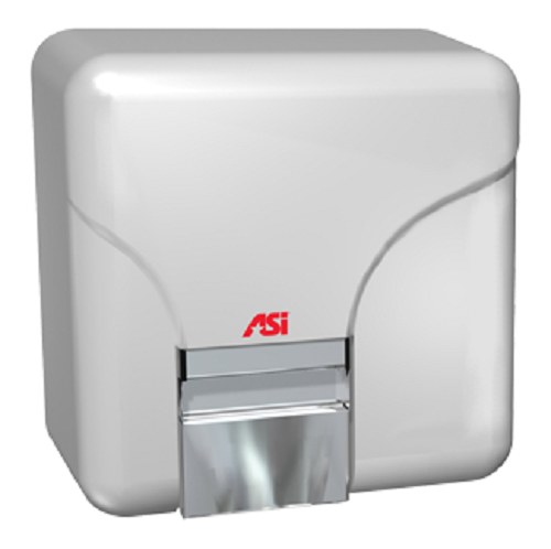 0141 & 0144 Porcelair, ASI Hand Dryer Automatic Face & Hand 110/120 Volt or 208/240 Volt-ASI (American Specialties, Inc.)-Allied Hand Dryer