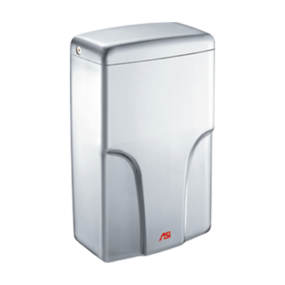 ASI 0196 TURBO-Pro™ HIGH-SPEED ADA HAND DRYER-Our Hand Dryer Manufacturers-ASI (American Specialties, Inc.)-120 VAC, 50/60 Hz-Satin Stainless Steel-Allied Hand Dryer