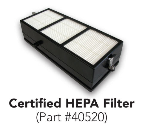 40520, Excel XLERATOR Certified HEPA Filter (Replacement Only) - PART #40520-Excel-Allied Hand Dryer